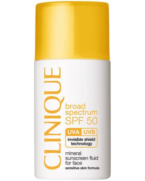 Sonnenpflege SPF 50 Mineral Sunscreen Fluid for Face Type 1,2,3,4