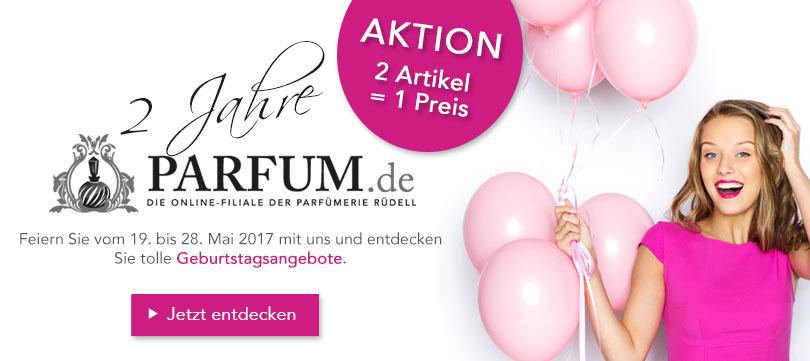 Geburtstagsangebote ZWEI zum Preis von EINEM