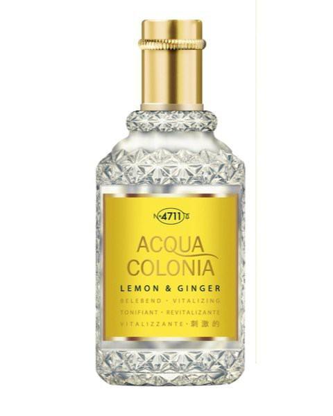 Lemon & Ginger Eau de Cologne Spray