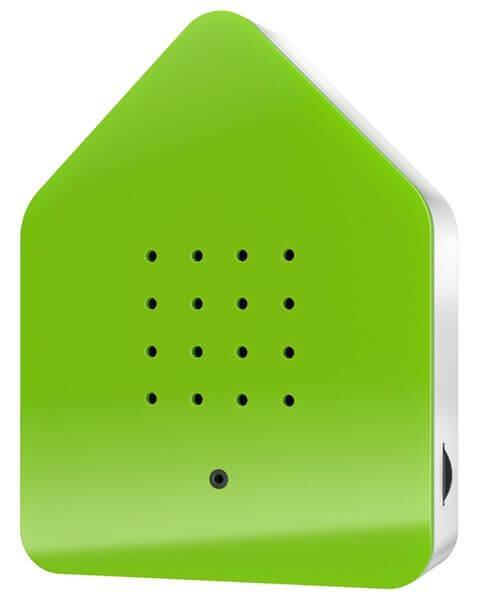 Zwitscherbox Klassik Grün Bewegungsmelder