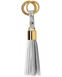 Schlüsselanhänger Tassel Keyring Metallic Silver