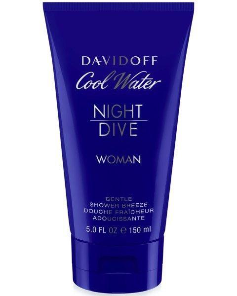 Cool Water Woman Night Dive Shower Gel
