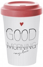 Wohndekoartikel Travel Mug Good Morning My Love