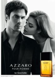 Luxus pur: Vampir Ian Somerhalder wirbt für Azzaro