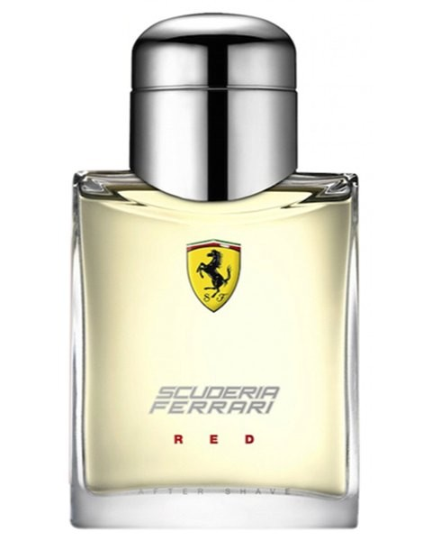 Red After Shave Lotion