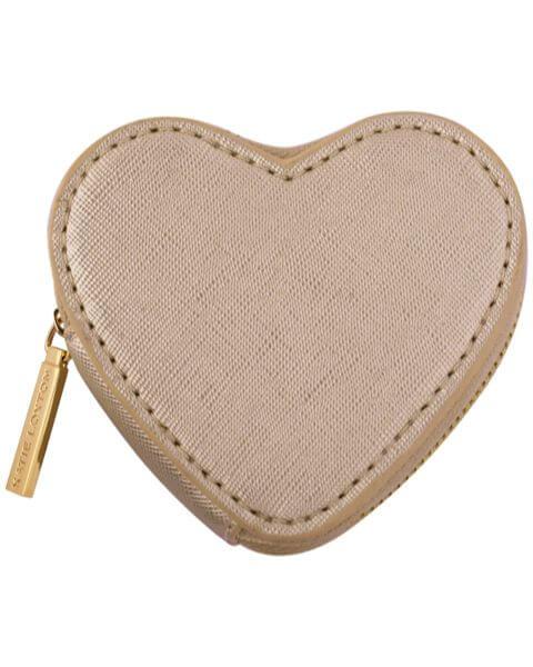 Geldbörsen Heart Coin Purse Metallic Gold