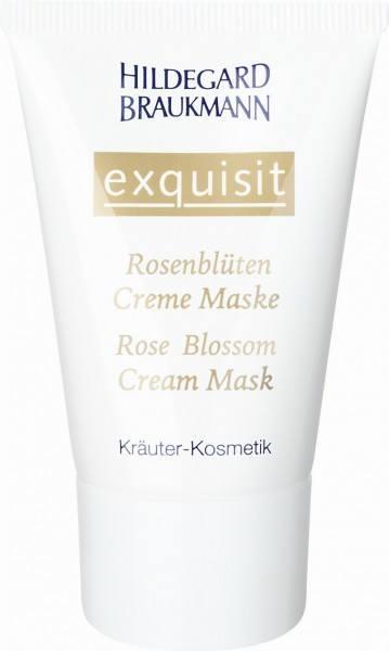 Exquisit Rosenblüten Creme Maske