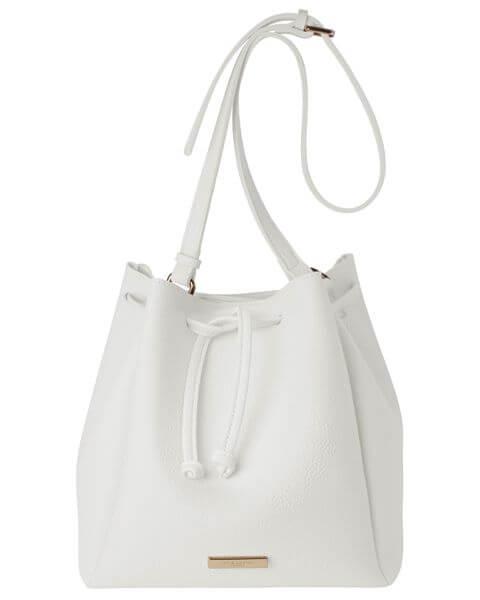 Handtaschen Chloe Bucket Bag Cool White
