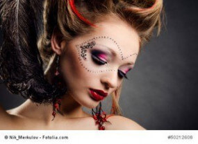 Von schrill bis exotisch – Make-up Tipps für die Karnevalszeit