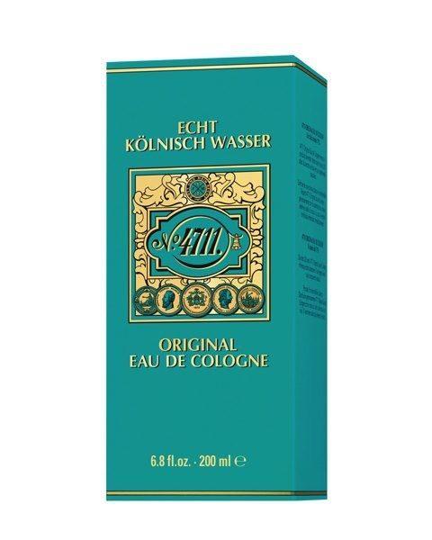 Echt Kölnisch Wasser EdC Molanusflasche Schüttflakon in Faltschachtel