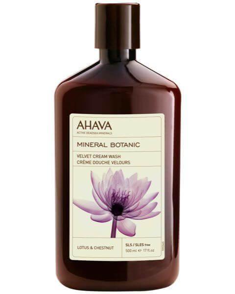 Mineral Botanic Velvet Cream Wash Lotusblüte & Kastanie