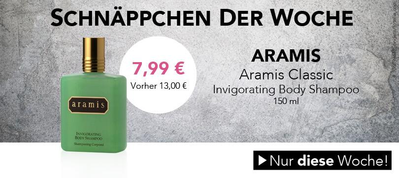 Schnäpchen der Woche: Aramis Body Shampoo