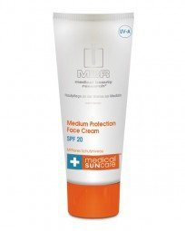 Medical Sun Care Medium Protection Face Cream SPF 20
