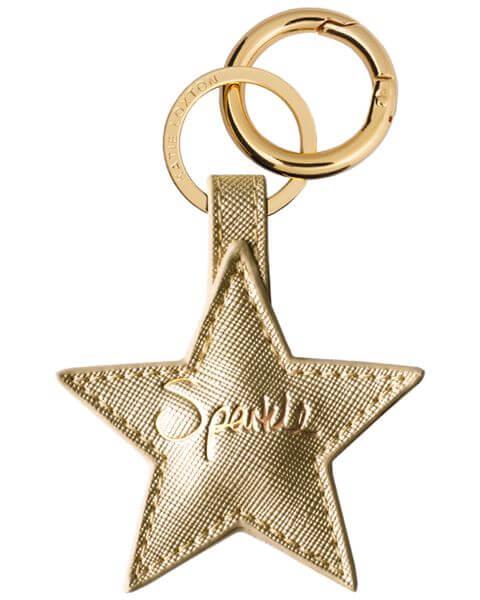 Schlüsselanhänger Star Keyring Gold