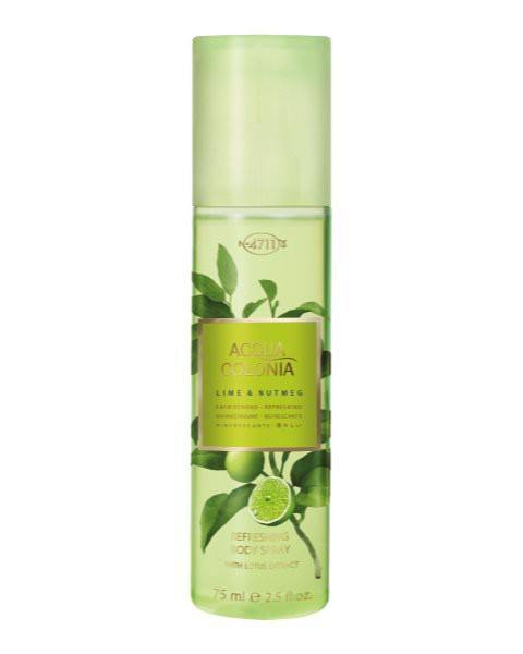 Lime & Nutmeg Refreshing Body Spray
