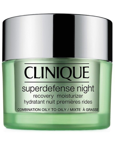 Feuchtigkeitspflege Superdefense Night Recovery Moisturizer Combination Oily - Oily Skin Typ 3,4