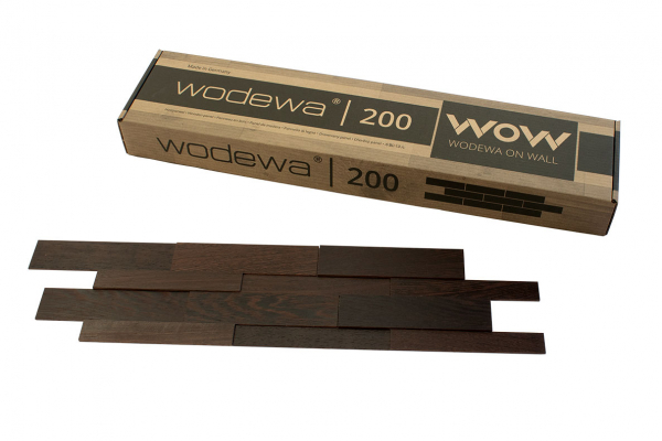 wodewa Designpaneel I Wenge I geölt