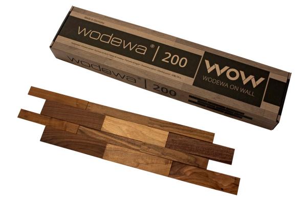 wodewa Designpaneel I Nussbaum I Natur
