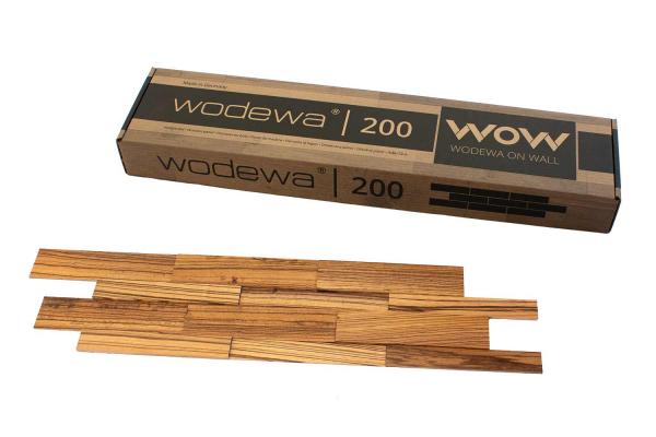 wodewa Designpaneel I Zebrano I geölt