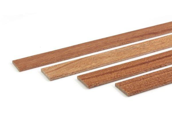 Zierleiste Holz Abschlussleiste Mahagoni