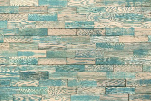 wodewa Vintage V010 blau Wandverkleidung Holz