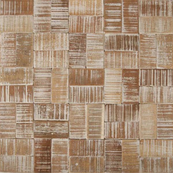 Coco Mosaik White Wash Wood