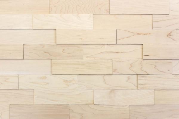 wodewa Ahorn natur Holz Wandverkleidung Detailbild