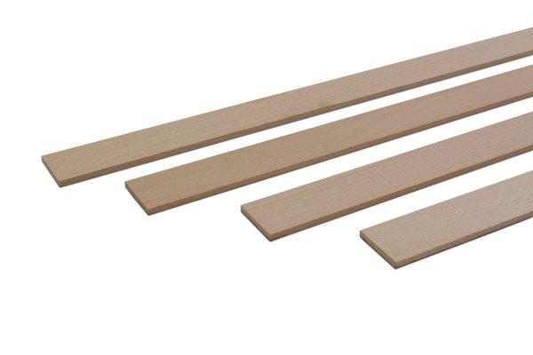 Zierleisten Holz Buche Natur Holzleiste