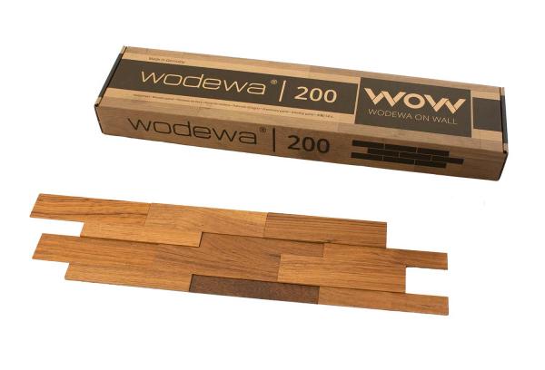 wodewa Designpaneel I Teak I geölt