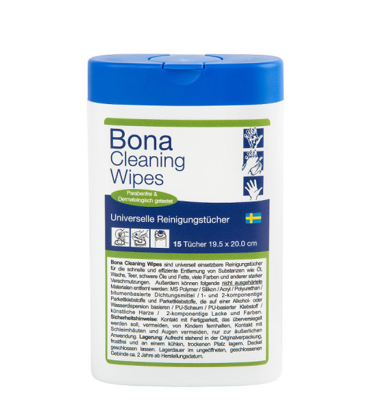 Bona Reinigungstücher / Cleaning Wipes