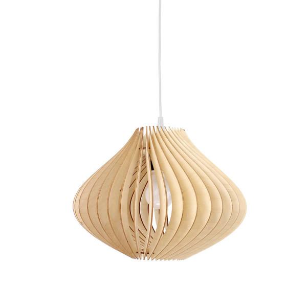 Holzlampe Ventus Hängeleuchte Natur