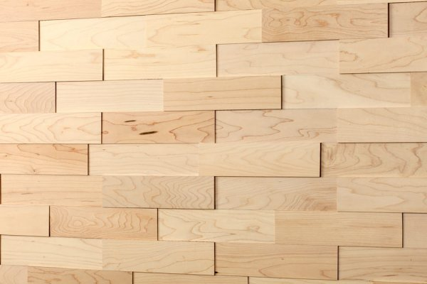 wodewa Ahorn geölt Holz Wandverkleidung Detailbild