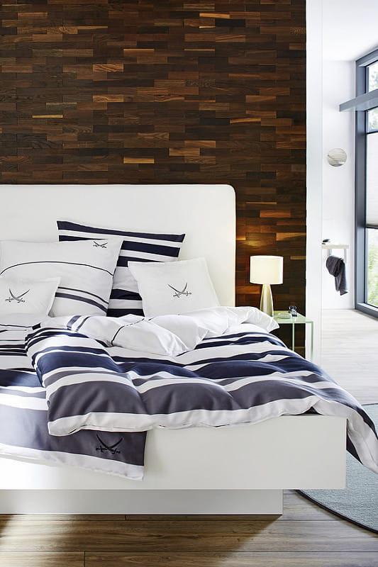 Wandverkleidung Aus Holz Im Schlafzimmer U2013 Höchste Ästhetik Mit  Einzigartigem Charme