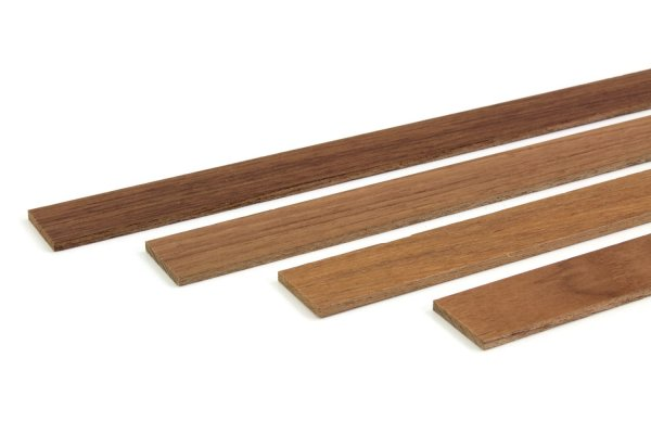 Teak Holz Abschlussleisten Wandverkleidung